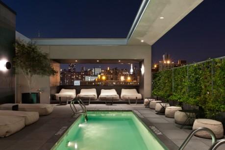 La Piscine Pool Hotel Americano Chelsea NYC
