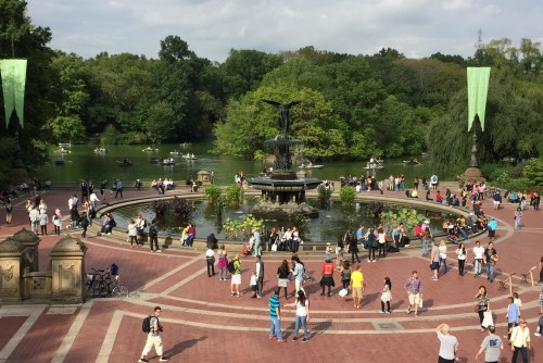 Bethesda Terrace in Central Park NYC