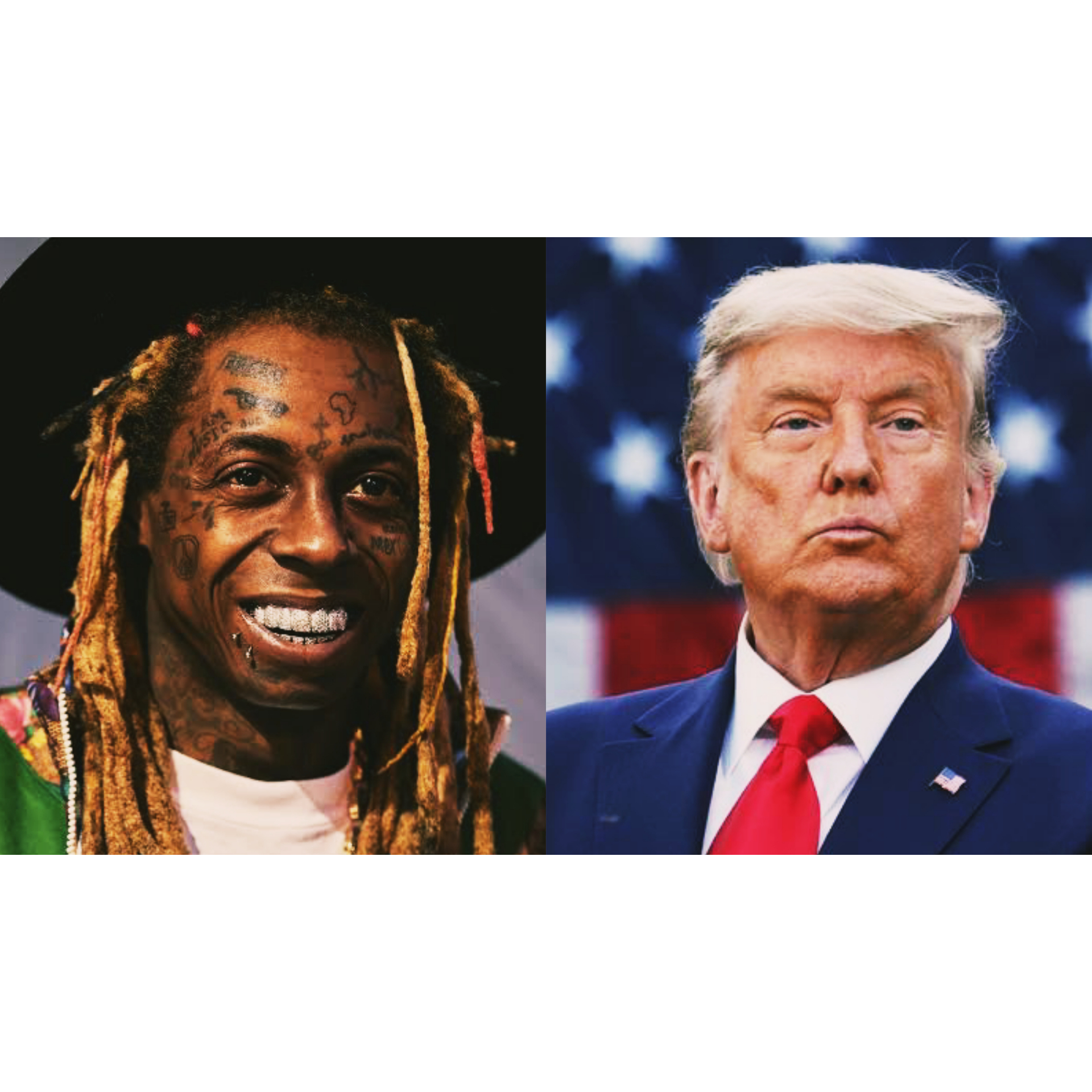 Trump Pardons Lil Wayne and other Rappers