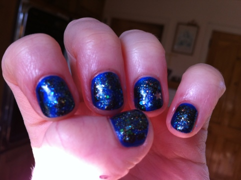 March Manicure Madness, Day Four: Starry, Starry Night (2/5)