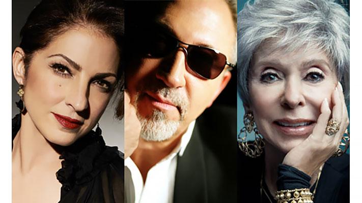 Gloria Estefan, Emilio Estefan, Rita Moreno