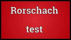 Rorschach NYC parking ticket test