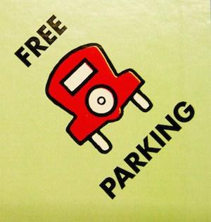 free parking on Sundays