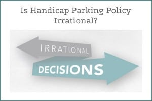 Is handicap NYC parking ticket policy irrational