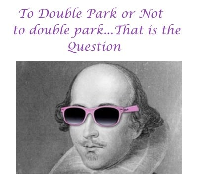 A question about wether to double park