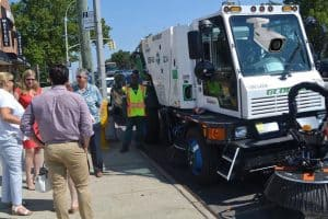 parking tickets will increase with sweeper cams