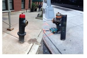 Can you park within 15 Feet of these 2 NYC Fire Hydrants?