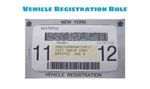 How to make Sense out of NYC Vehicle Registration Rule