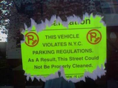 sanitation stickers have been eliminated by NYC Council