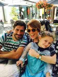 Larry's children and Natalie