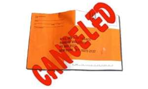 NYC parking ticket cancelled for failure to display muni meter receipt