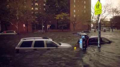 Parking tickets damage Hurricane Sandy NYC