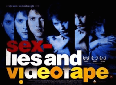 """This image of the movie, """"Sex Lies and Videotape"""" is a metaphor for this blog post about sex, lies, and nyc parking tickets"""