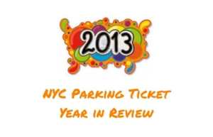 NYC Parking Ticket Year in Review (2013)