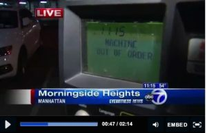 Are Broken NYC Muni- Meters a Problem for you?