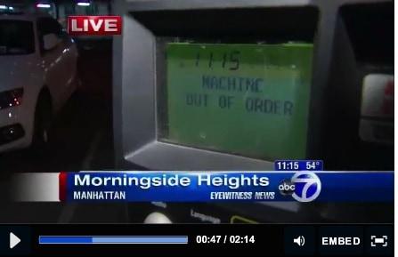 High risk of parking ticket when park at a broken muni-meter