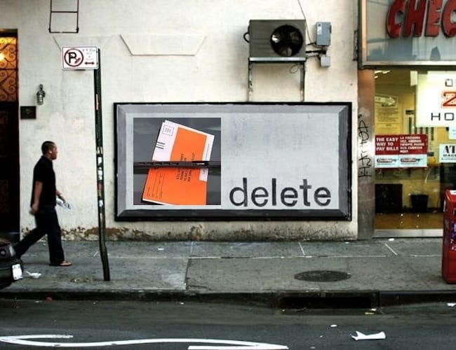 This image of a delete NYC parking ticket stands for beating a parking ticket