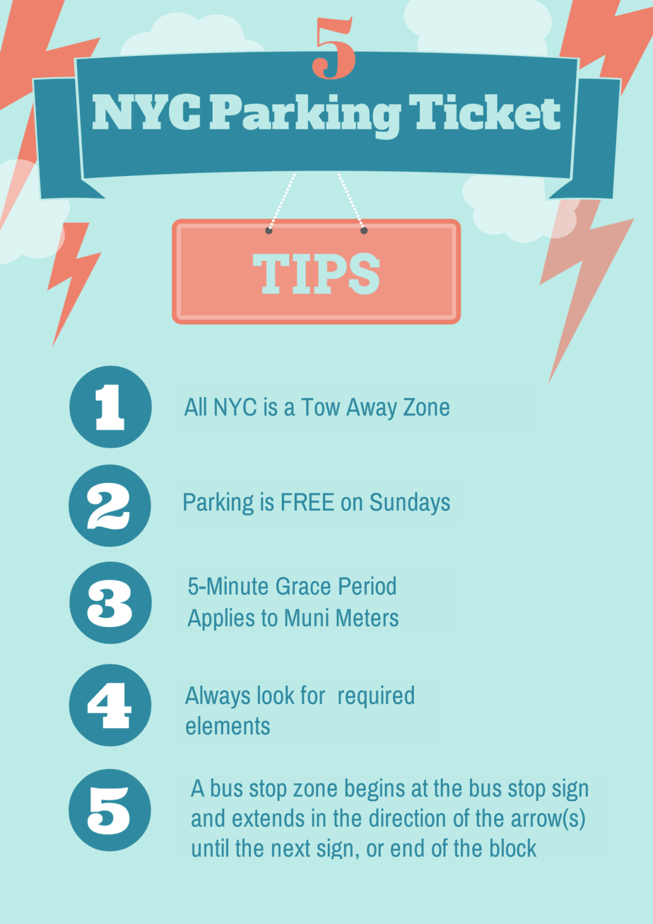 Larry s Extraordinary Top 10 NYC Parking Ticket Tips