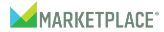 This is the logo for Marketplace on public radio