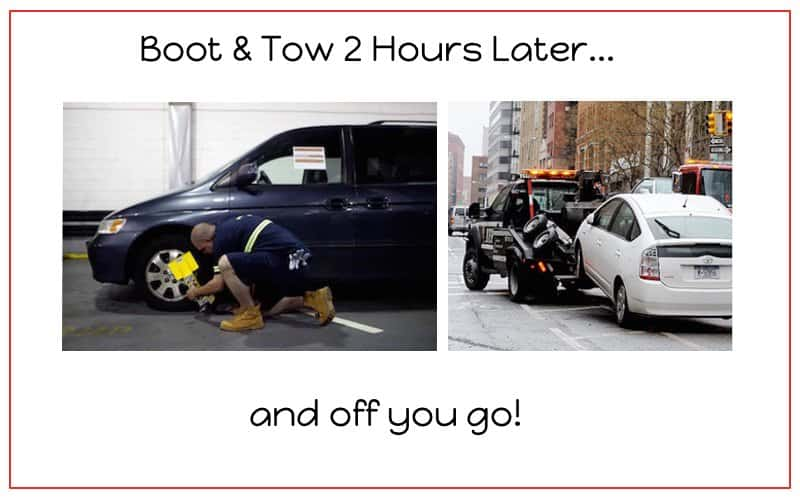 Warning gotten a boot and tow recently read this part two this image depicts applying a boot and tow 2 hours later fandeluxe Gallery