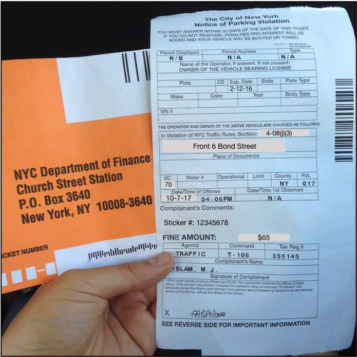 How I Beat Registration And Inspection Parking Tickets