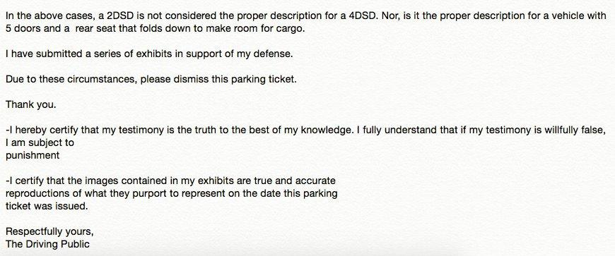 Parking Ticket-defensecertification-body type-2
