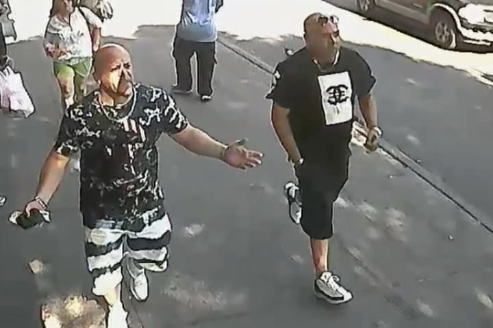 These two men assaulted a NYC parking ticket warrior for issuing a parking ticket