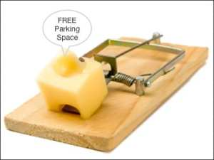 this image represents a NYC parking ticket trap
