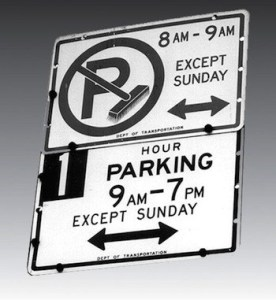 Which Sign wins the Battle of the NYC Parking Signs?