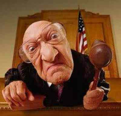 An angry NYC parking ticket judge