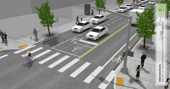 Add a bike lane for more safety