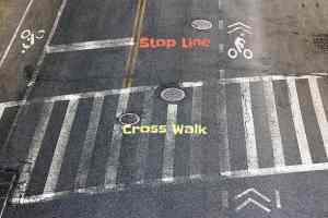 What Everybody Ought to Know About Crosswalks and Stop Lines