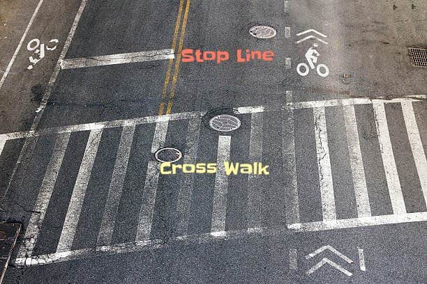 Nyc Traffic Ticket >> What everybody ought to know about crosswalks and stop lines