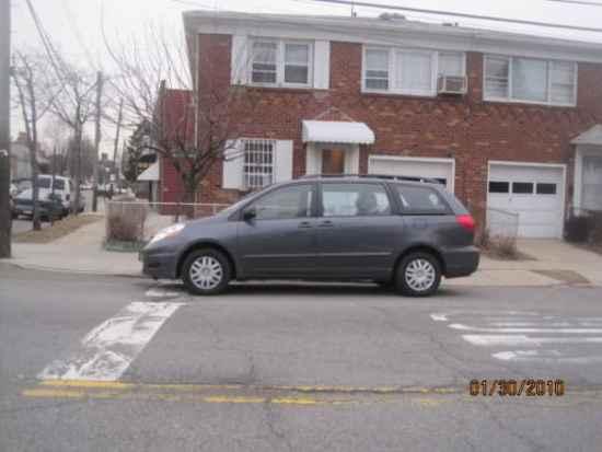 Stop lines and crosswalks-parking in crosswalk