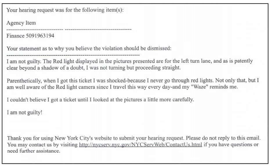 How To Fight A Speeding Ticket In Ny