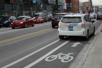 Bike lane violations
