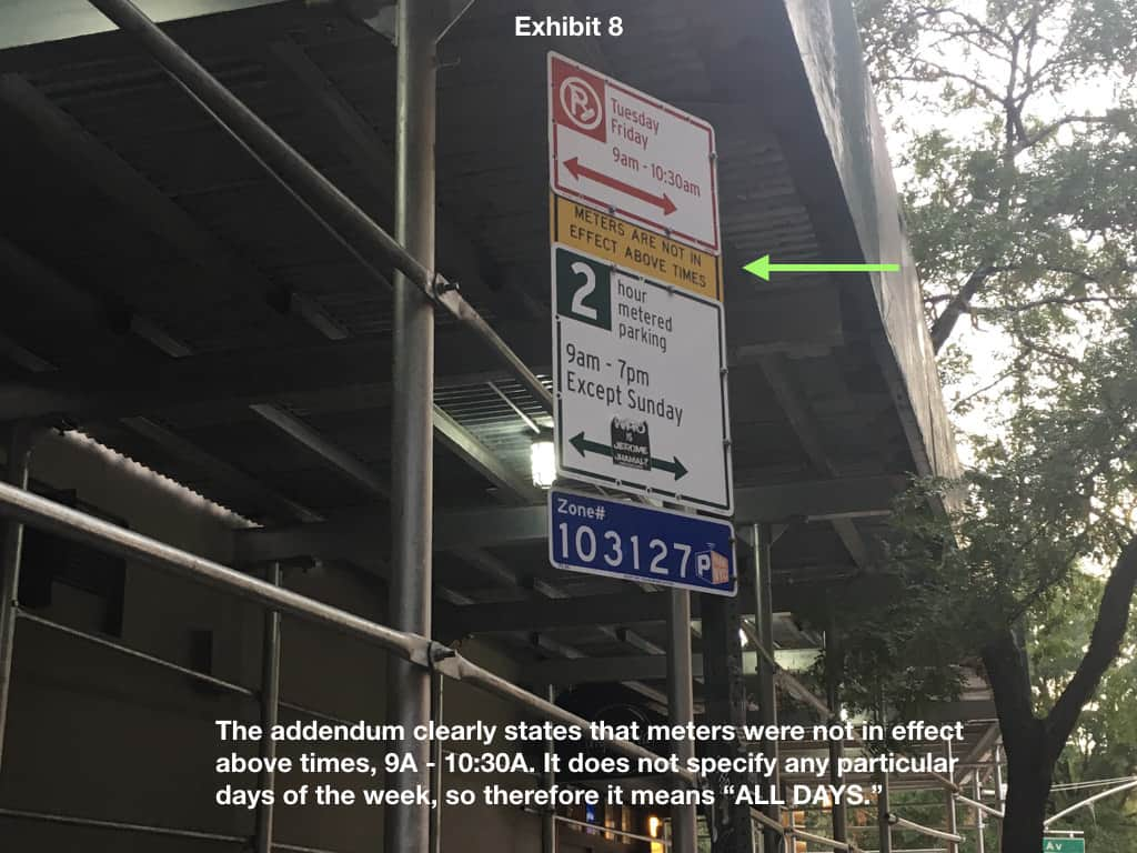 The confusing NYC parking sign