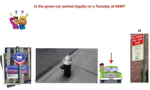 parking ticket quickie quiz_bus stop and fire hydrant