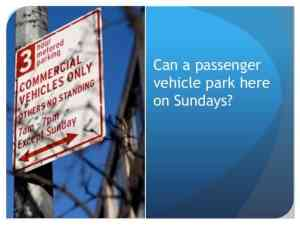 This is a parking sign that caused Susan to get a no standing parking ticket