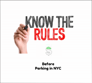 Parking rules you must know