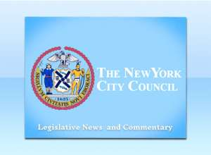 legislative news from the NYC Council