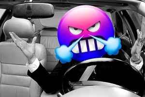 A dangerous driver operating a dangerous vehicle