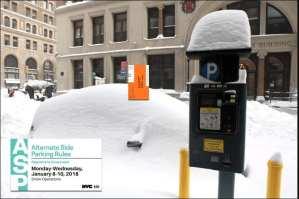 muni meter parking ticket snow