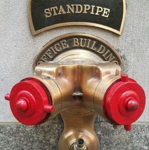 Parking ticket tips display picture of a Standpipe