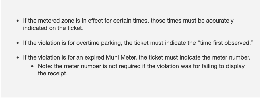 Parking meters tips from the Evil Empire