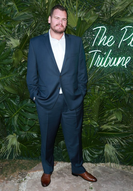 JULY 11: NFL player Ryan O'Callaghan attends The Players' Tribune Hosts Players' Night Out 2017 at The Beverly Hills Hotel on July 11, 2017 in Beverly Hills, California. (Photo by Leon Bennett/Getty Images for The Players' Tribune )
