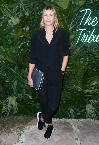 JULY 11: Tennis player Maria Sharapova attends The Players' Tribune Hosts Players' Night Out 2017 at The Beverly Hills Hotel on July 11, 2017 in Beverly Hills, California. (Photo by Leon Bennett/Getty Images for The Players' Tribune )