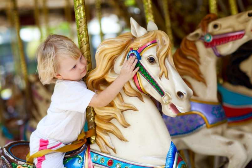 Carousel at Mitchell Park - Greenport ny vacation rentals