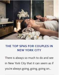 New York City Spas
