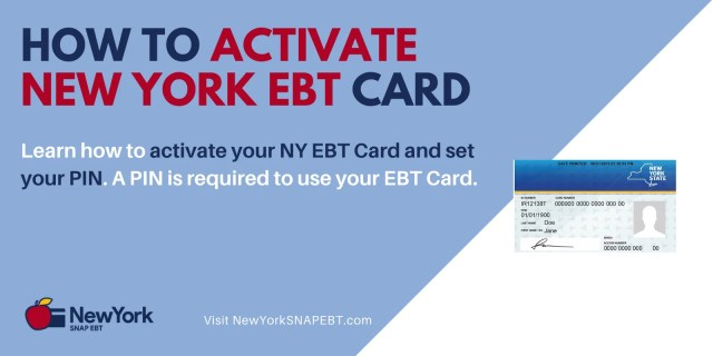 """""""How to Activate New York EBT Card"""""""